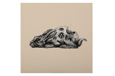 Lot 11-ROA (Belgian, b.1976), 'Year Of The Rabbit'
