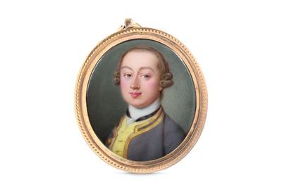 Lot 5 - JEAN ANDRÉ ROUQUET (SWISS 1701-1758) Portrait...