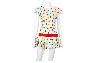 Lot 34-Guy Laroche Boutique Collection Polka Dot Dress