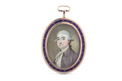 Lot 27 - RICHARD CROSSE (BRITISH 1742-1810) Portrait...