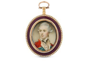 Lot 18 - JEREMIAH MEYER R.A. (BRITISH 1735-1789) A fine...