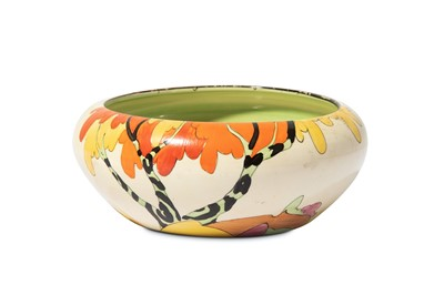 Lot 28-CLARICE CLIFF: Honolulu a shape 55 bowl, circa...