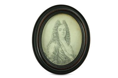 Lot 10 - THOMAS FORSTER (BRITISH 1677-1712) Portrait...
