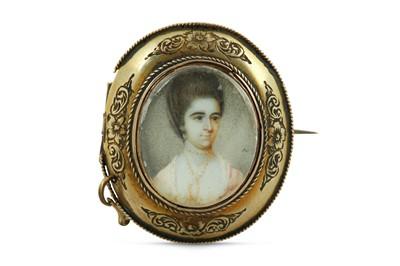 Lot 24 - JAMES REILY (IRISH d. 1780 or 1788) Portrait...