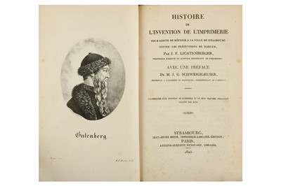 Lot 4-Bibliography & History of Printing, Bure...