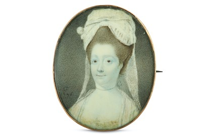 Lot 20 - CHARLES FORREST (IRISH fl. 1765-1787) Portrait...