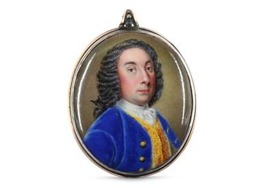 Lot 2 - ENGLISH SCHOOL (circa 1750) Portrait miniature...