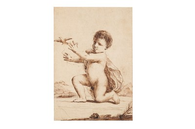 Lot 11-CIRCLE OF GIOVANNI FRANCESCO BARBIERI, IL GUERCINO (CENTO 1591 - BOLOGNA 1666)