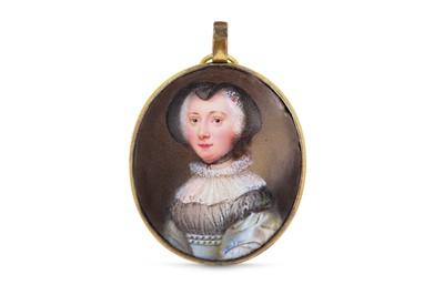 Lot 3 - NATHANIEL HONE R.A. (IRISH 1718-1784) Portrait...