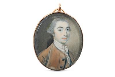 Lot 22 - NATHANIEL HONE R.A. (IRISH 1718-1784) Portrait...