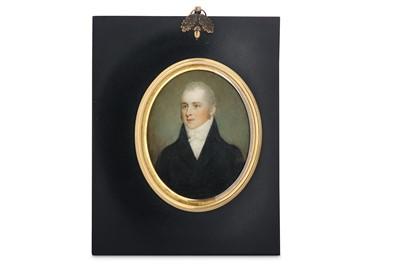 Lot 30 - SAMUEL SHELLEY (BRITISH 1750/56-1808) Portrait...