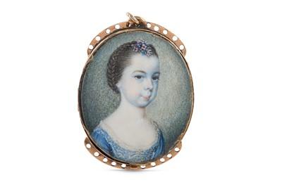 Lot 11 - JAMES SCOULER (BRITISH 1740-1812) Portrait...