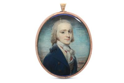 Lot 37 - WILLIAM GRIMALDI (BRITISH 1751-1830) Portrait...