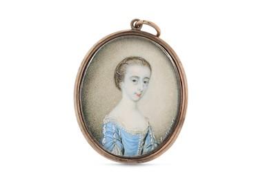 Lot 7 - JAMES SCOULER (BRITISH 1740-1812) Portrait...