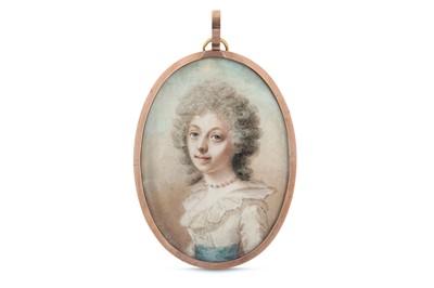 Lot 39 - ABRAHAM DANIEL (BRITISH 1750-1806) Portrait...