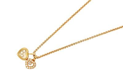 Lot 32-A 'Happy Diamond' pendant necklace, byChopard...
