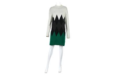 Lot 1-Jean Paul Gaultier Equator Knitted Dress