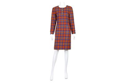 Lot 45-Valentino Miss V Wool Dress - size 44
