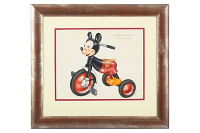 Lot 42-RAYMOND LOEWY (1893-1986) Mickey Mouse, 1946...