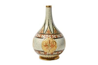Lot 2-ANDRE METTHEY (1871 - 1920) - A ceramic bottle...
