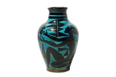 Lot 22-EDOUARD CAZAUX(1889 - 1974): An earthenware...