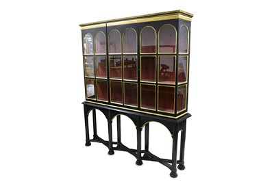 Lot 15-AFTER SIR EDWIN LUTYENS: A Cabinet on Stand made...
