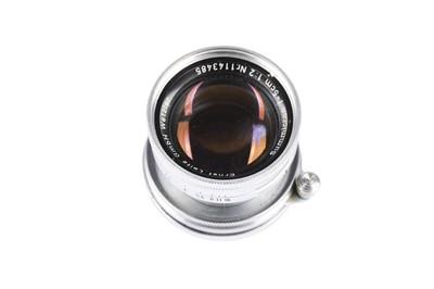 Lot 95-A Leitz 5cm f/2 Summicron Lens