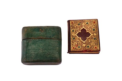 Lot 232-Miniature Book.- Miniature Blank paper 'Sketch' Book, early 20th century blank 'sketch' book