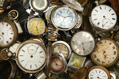 Lot 38-SET OF POCKET WATCHES, WRISTWATCHES , MOVEMENTS......
