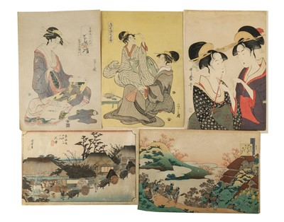 Lot 660 - A LARGE GROUP OF REPRODUCTION PRINTS.
