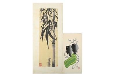 Lot 662 - A COLLECTION OF SOSAKU HANGA.