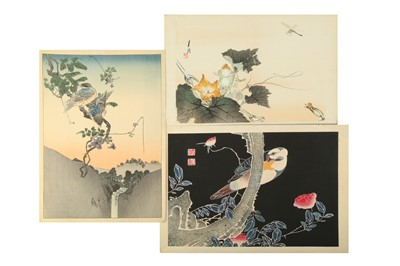 Lot 649 - A COLLECTION OF JAPANESE WOODBLOCK PRINTS.