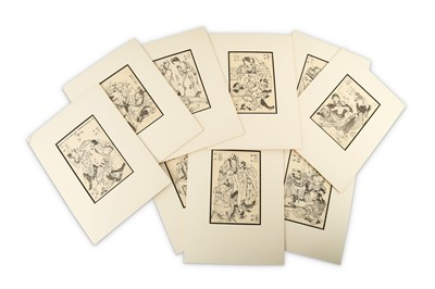 Lot 667 - A LARGE COLLECTION OF BOOK-PLATES.