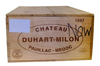 Lot 90-Chateau Duhart-Milon 1997 in Original Wooden Case.