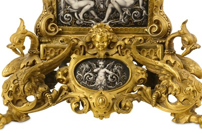 Lot 172 - A LATE 19TH CENTURY FRENCH GILT BRONZE AND...
