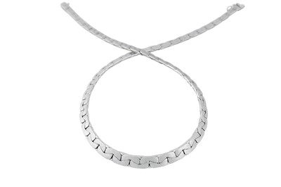 Lot 41-A white gold necklace, 1973