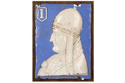 Lot 21-ATTRIBUTED TO LUCA DELLA ROBBIA (ITALIAN, 1399-...