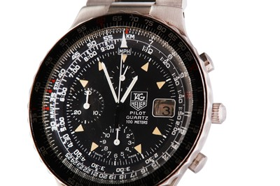 Lot 445-TAG HEUER.
