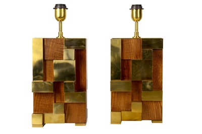 Lot 41-A pair of table lamps, 1970s