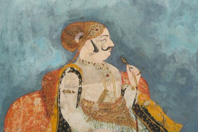 Lot 15-A NOBLEMAN SMOKING A HUQQA PROPERTY OF THE LATE BRUNO CARUSO (1927 - 2018) COLLECTION