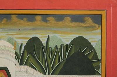 Lot 19-A PAHARI-REVIVAL BATHING SCENE PROPERTY OF THE LATE BRUNO CARUSO (1927 - 2018) COLLECTION