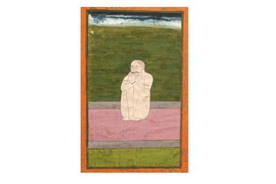 Lot 20-AN ASCETIC IN MEDITATION PROPERTY OF THE LATE BRUNO CARUSO (1927 - 2018) COLLECTION