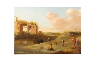 Lot 36-ATTRIBUTED TO CORNELIS VAN POELENBURGH (UTRECHT 1594 - 1667)