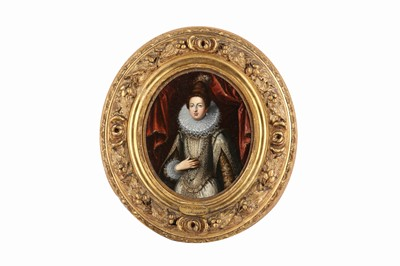 Lot 45-FOUR OVAL PORTRAITS (EARLY 19TH CENTURY)