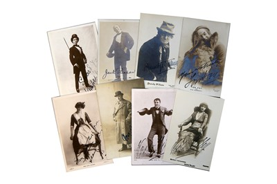 Lot 50-Photograph Collection.- Actors & Entertainers
