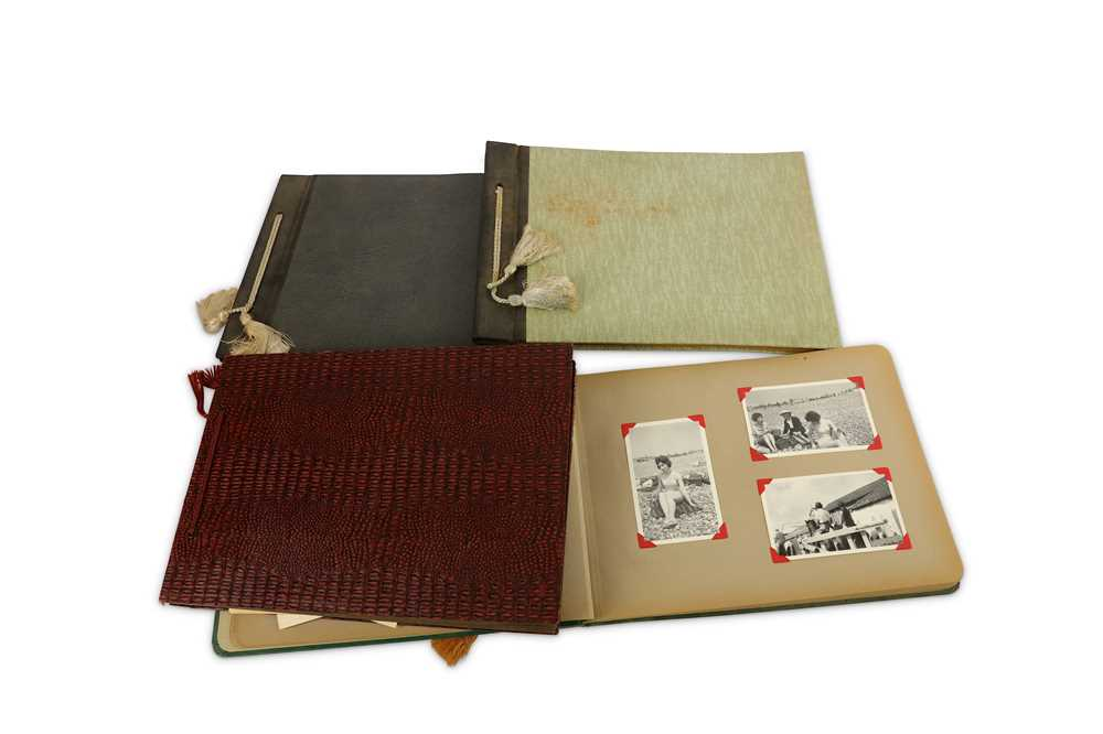 Lot 22-A Large collection of Family Photograph albums