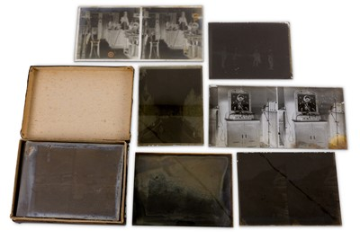 Lot 3-A Large Collection Stereo Diapositives, c.1890 - 1925
