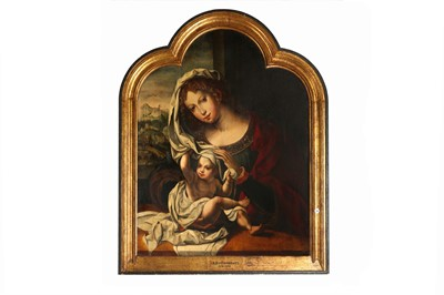 Lot 7-CIRCLE OF PIETER COECKE VAN AELST (AALST 1502 - BRUSSELS 1550), AFTER JAN GOSSAERT CALLED MABUSE