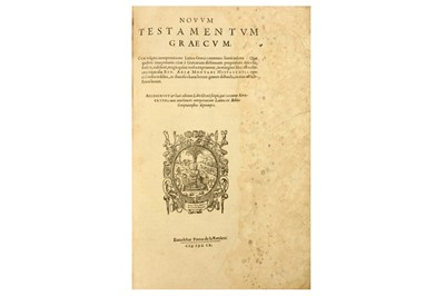 Lot 7-Bible, Hebrew, Latin & Greek [Montanus (Benito Arias, ed.)