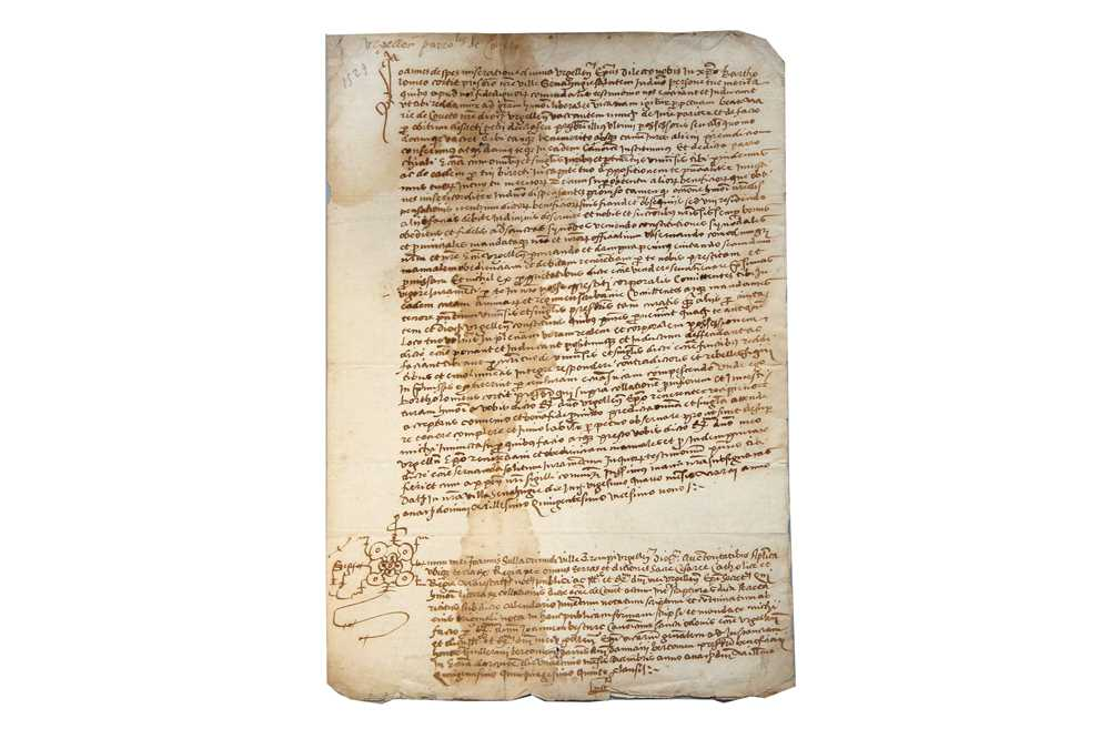 Lot 366-Spanish Interest.-16th -18th Century